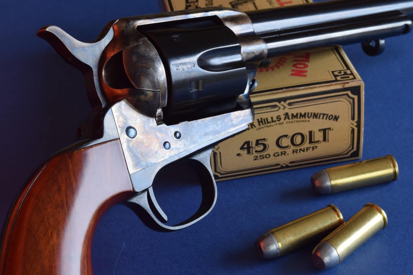 Colt SAA and ammo