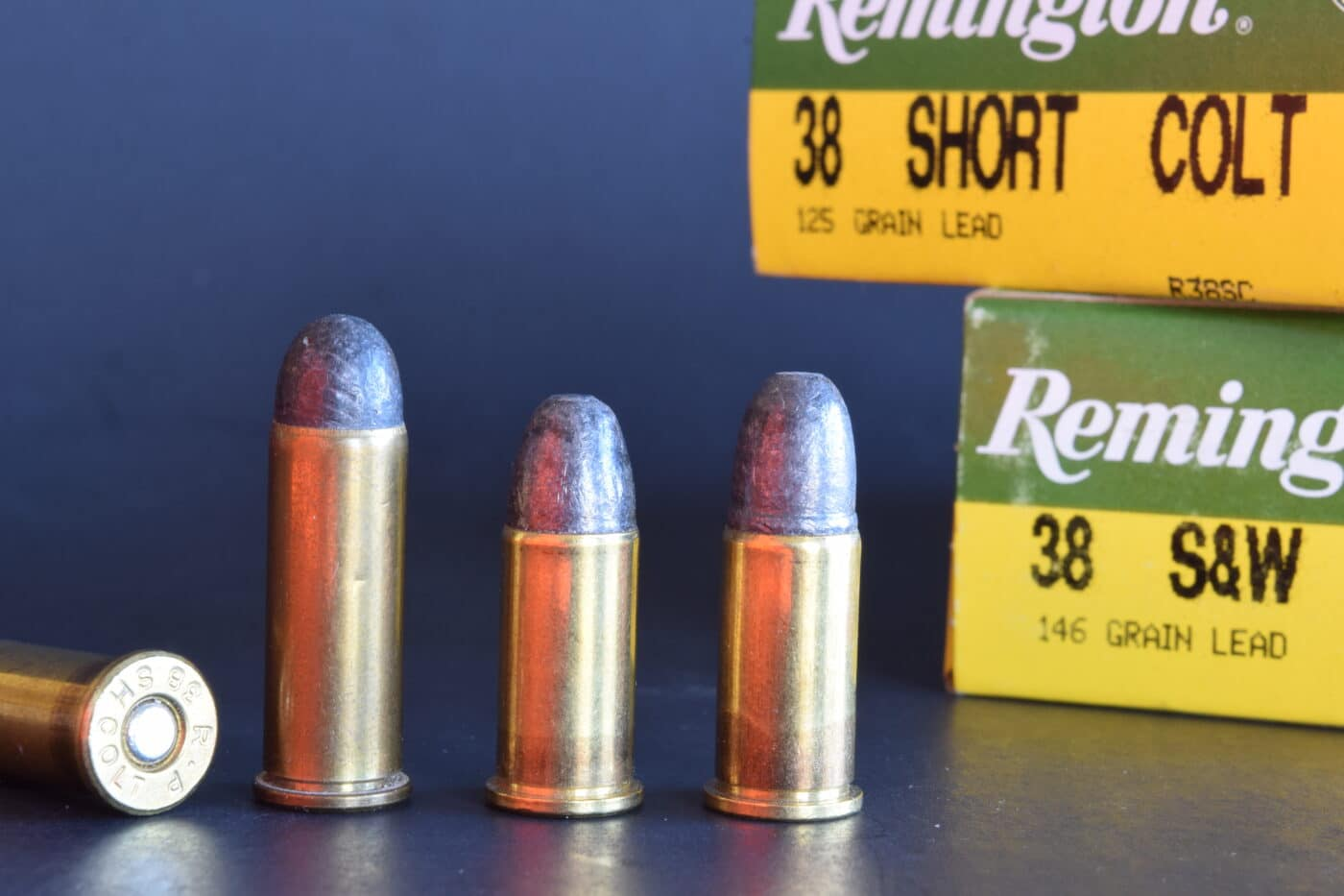 .38 cartridges for the military