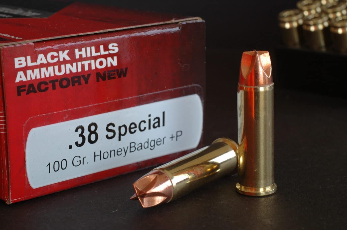 Honey Badge ammo for military use