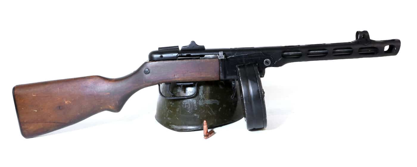 Russian PPSh SMG