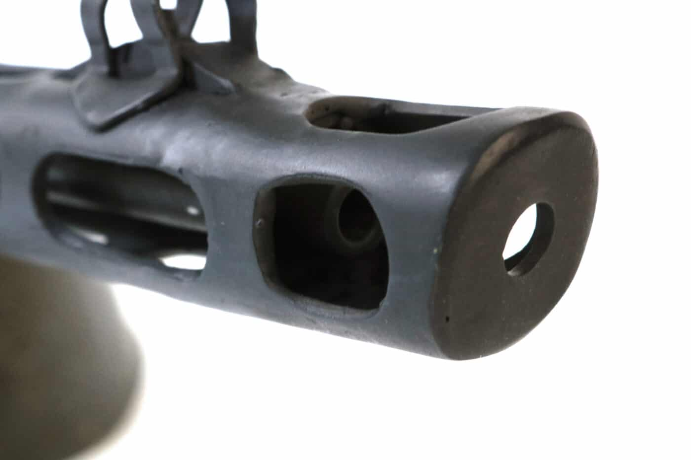 Muzzle brake on the Russian PPSh SMG