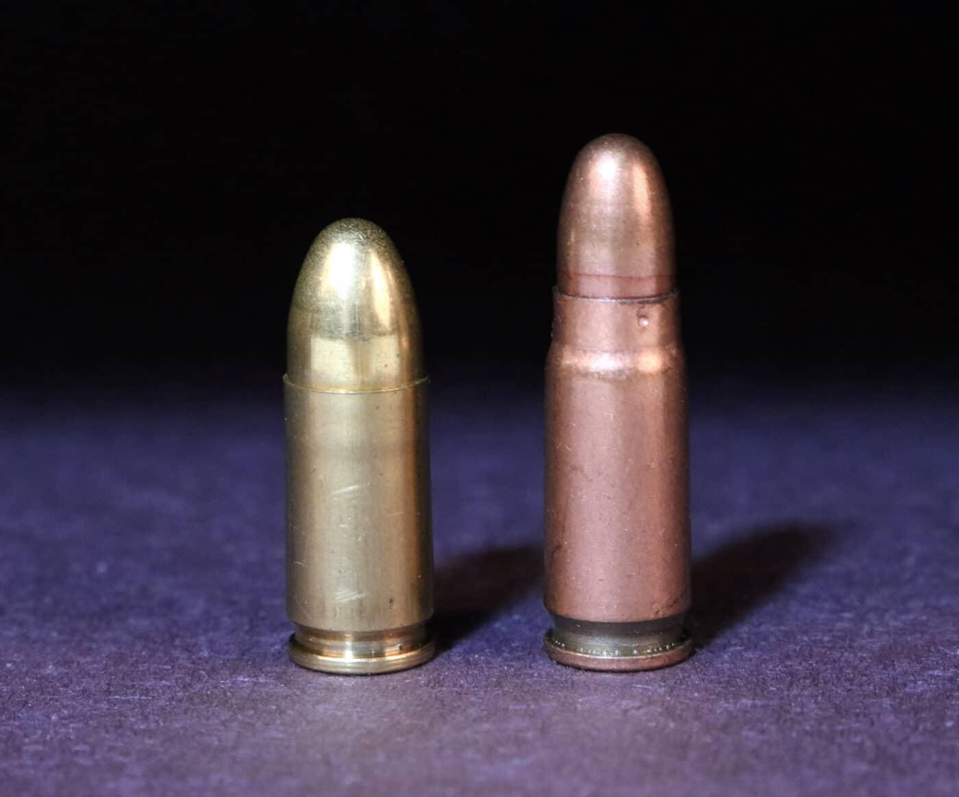 7.62x25 PPSh round vs. 9mm Parabellum