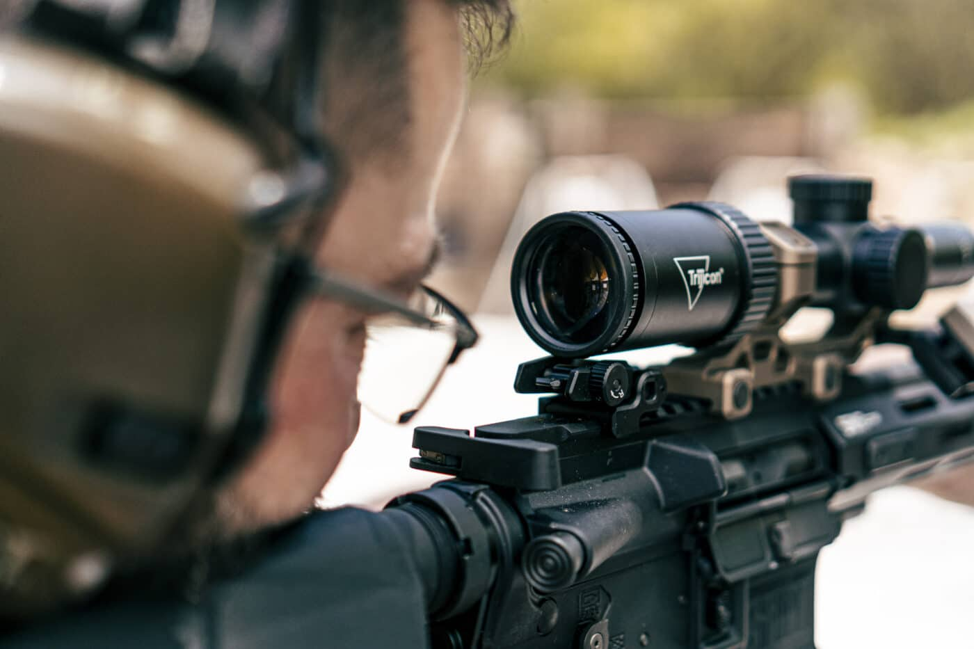 Eye relief on the Trijicon HX scope