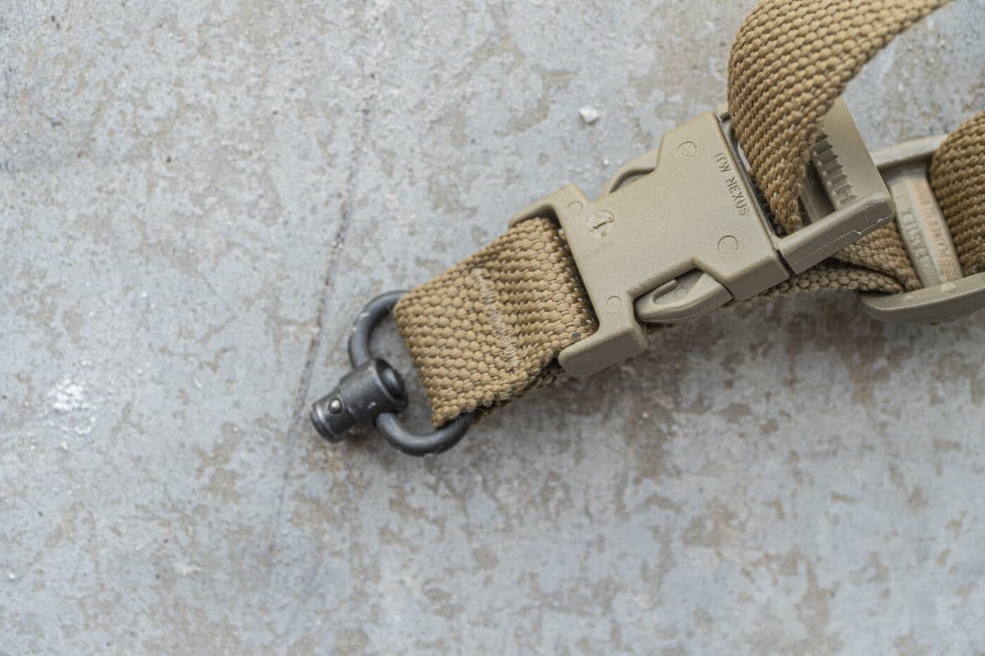 QD attachment for a single point sling