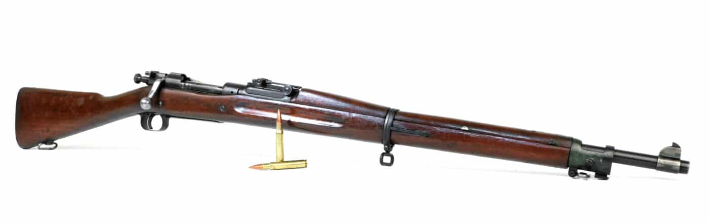 Side view of the M1903 Springfield rifle