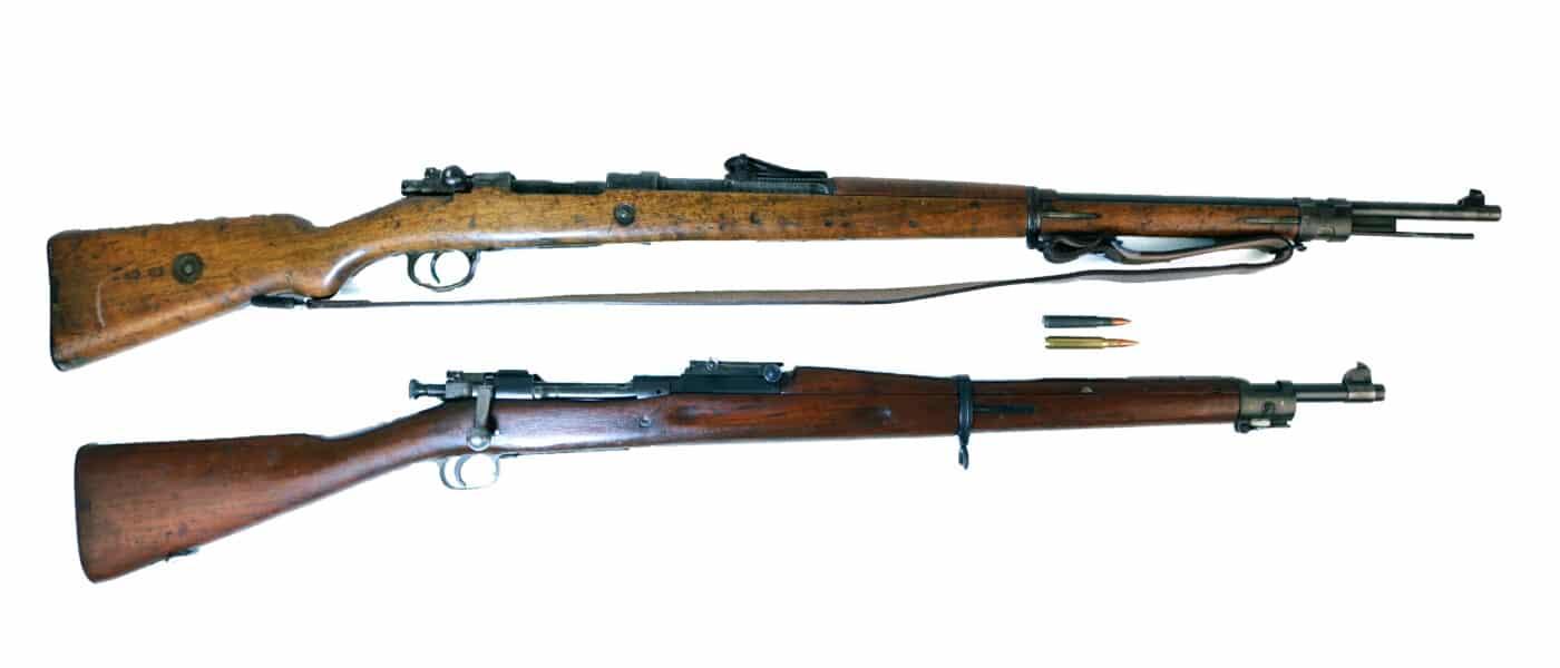M1903 vs. German 98 Mauser