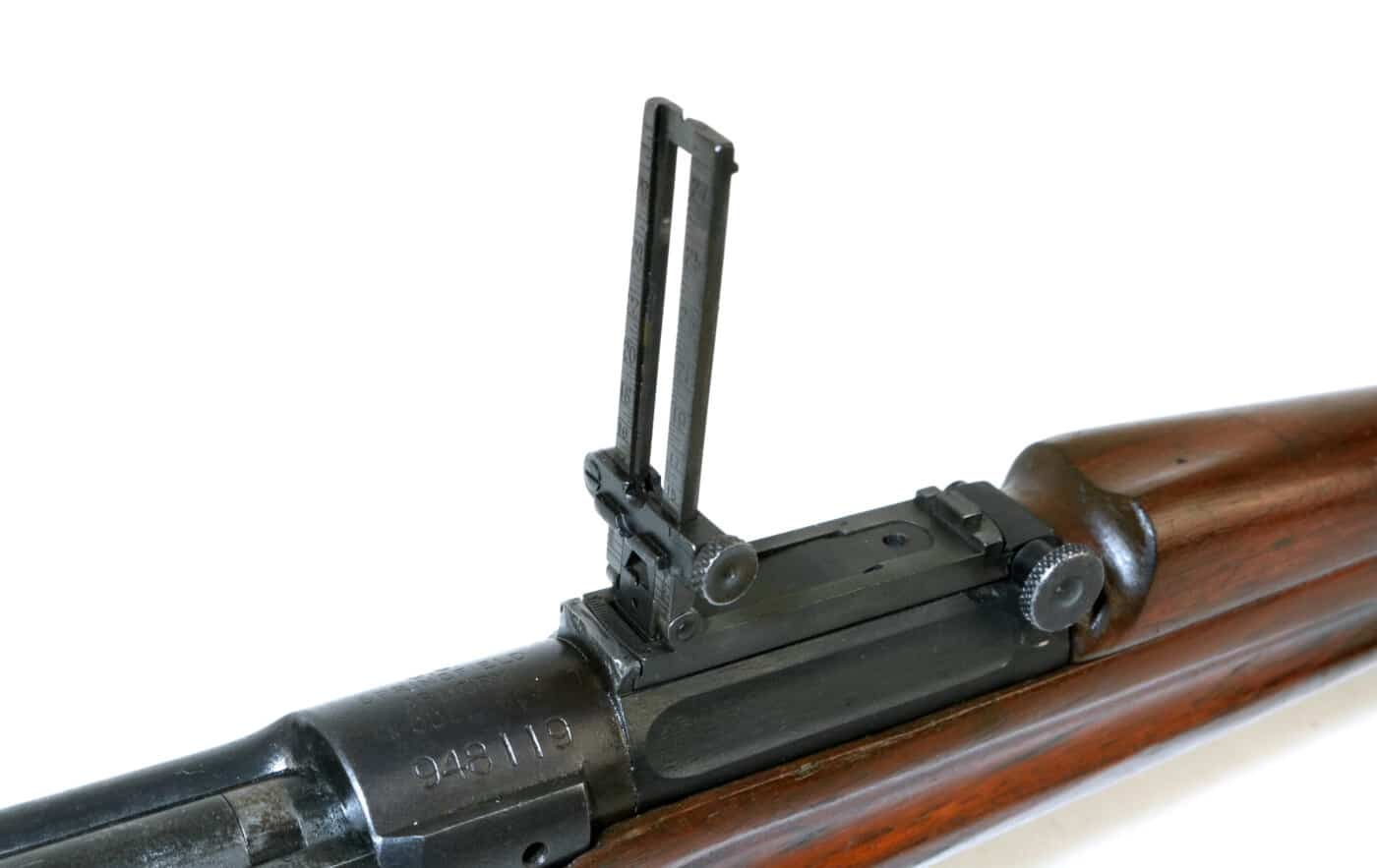 Rear sight of M1903 rifle