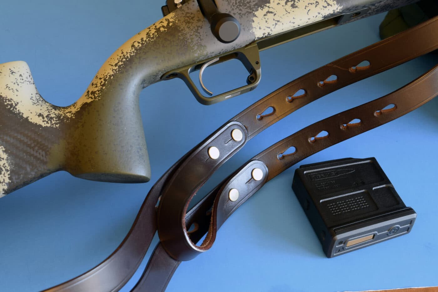 Galco Ching sling with rifle and magazine