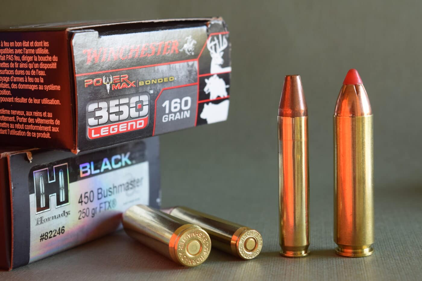Straight walled AR hunting cartridges