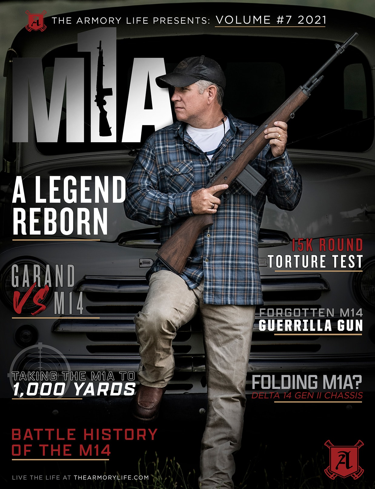 Cover for The Armory Life Digital Magazine Volume 7: M1A