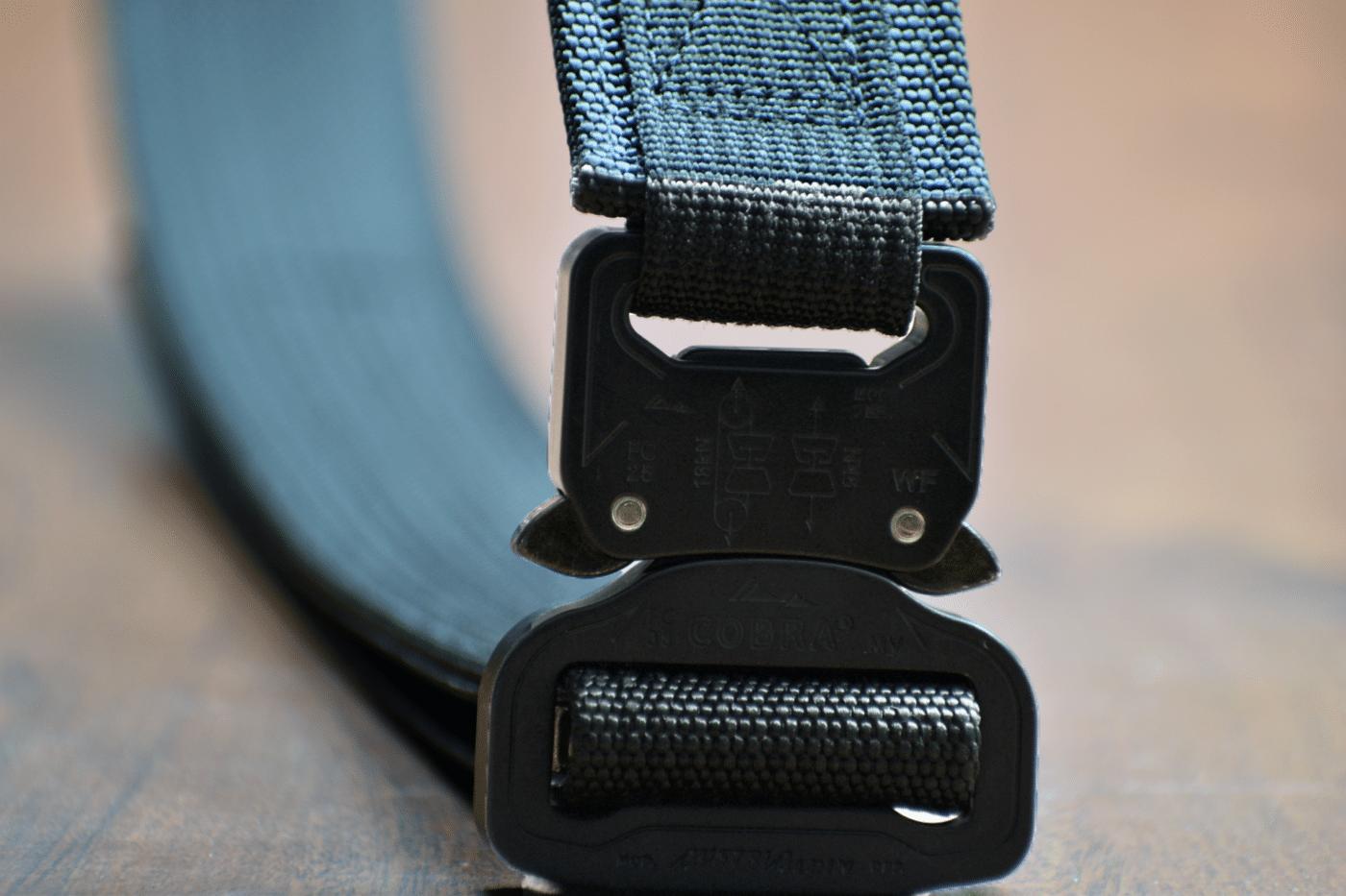 Buckle on Applied Gear EDC belt
