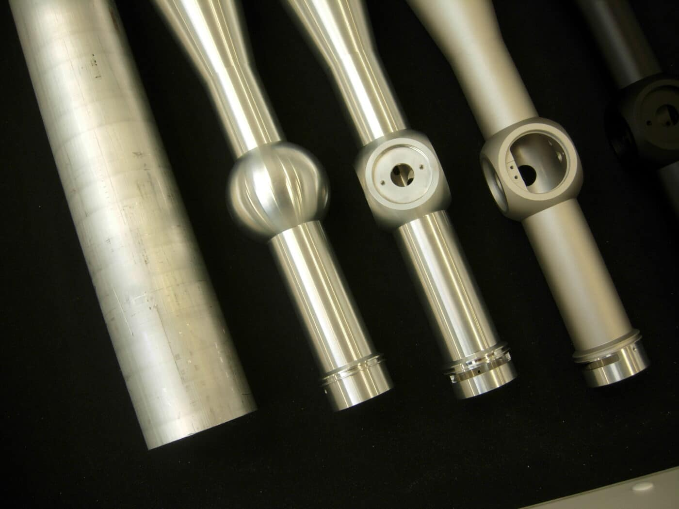 Scope tube size differences