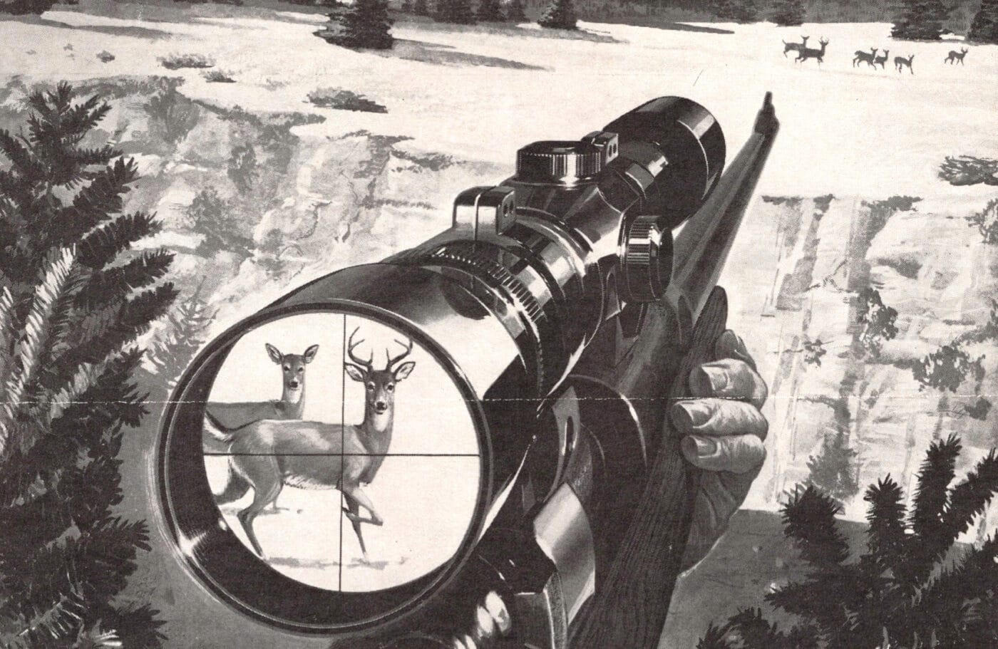 Lyman All-American scope with Perma-Center reticle