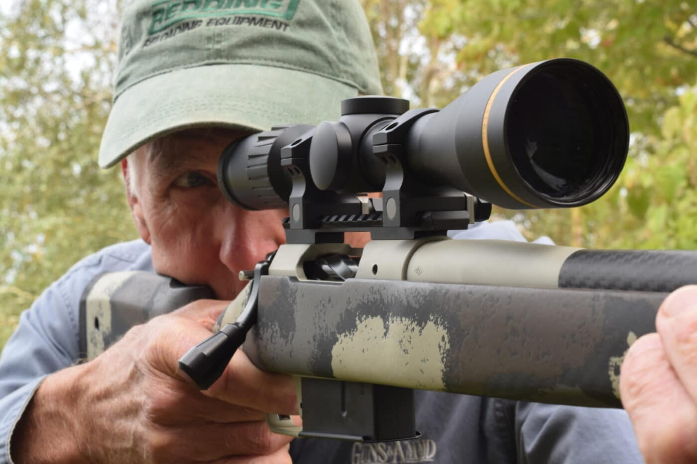 Springfield Waypoint rifle set up with scope for deer hunting