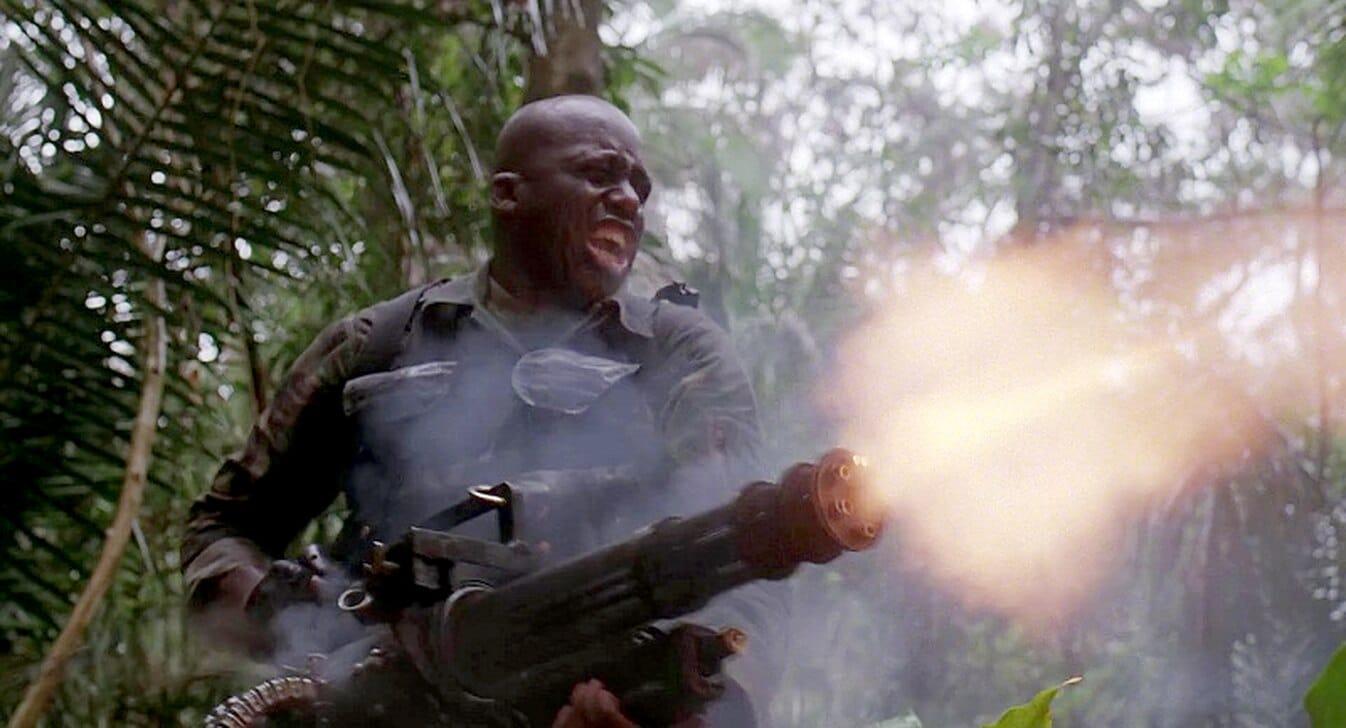 Mac with minigun from Predator