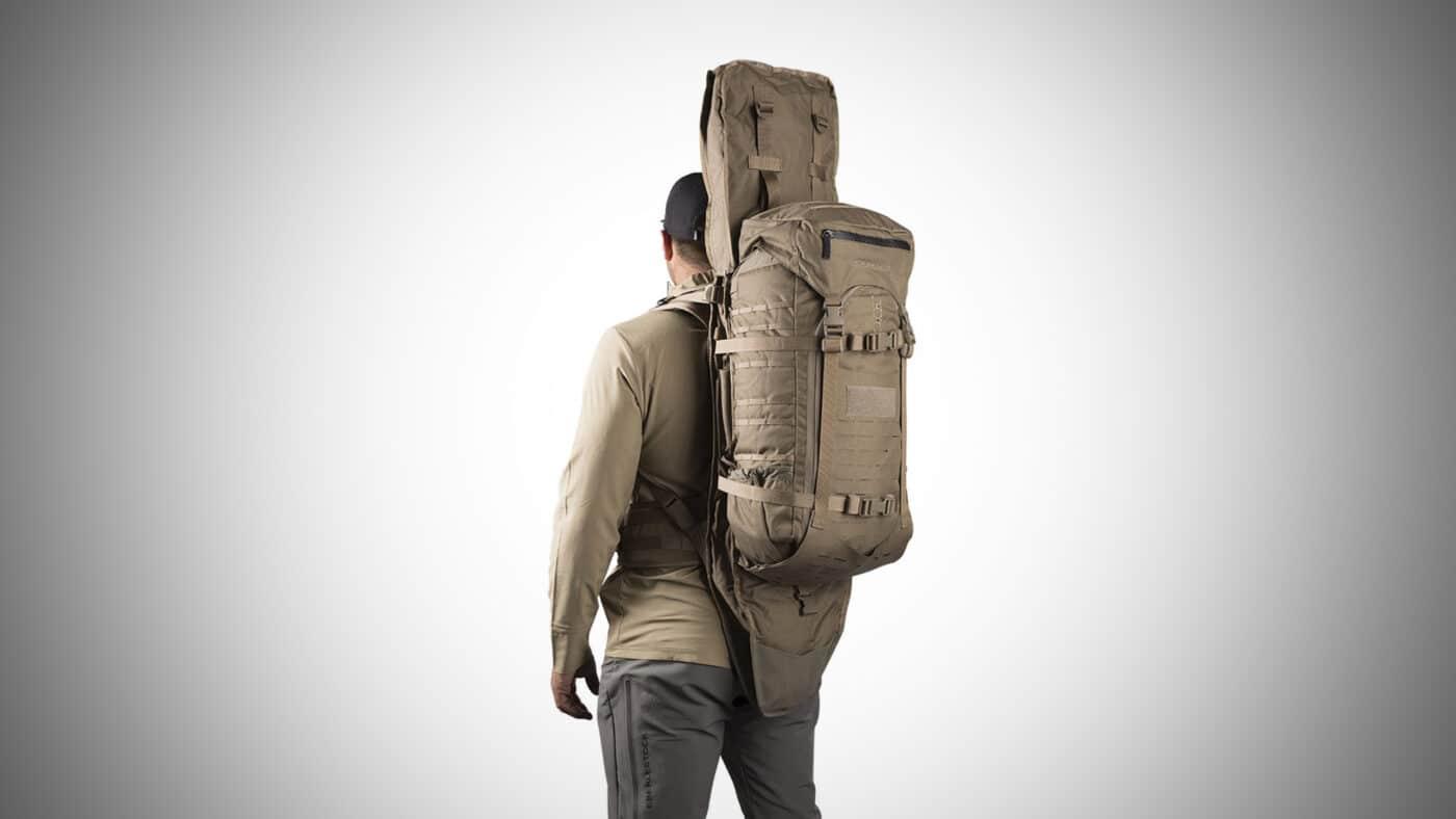 Man carrying Eberlestock G2 Gunslinger II
