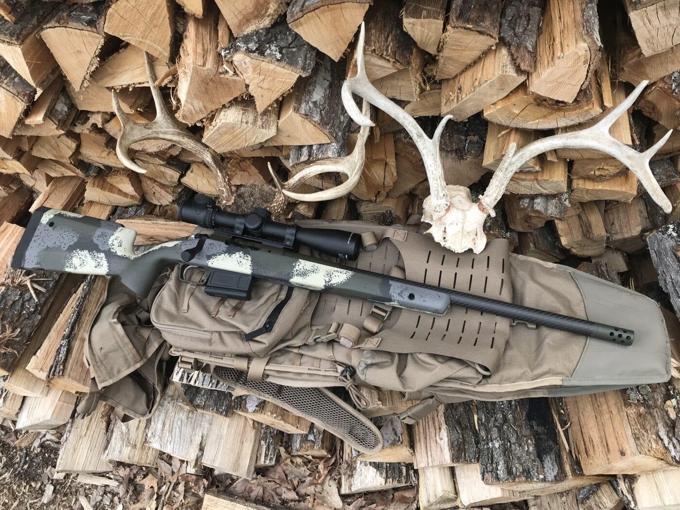 Eberlestock G2 Gunslinger II and Waypoint rifle