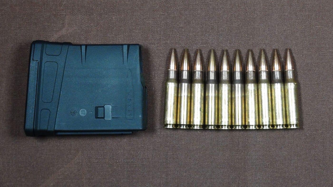 308 magazine with ammo