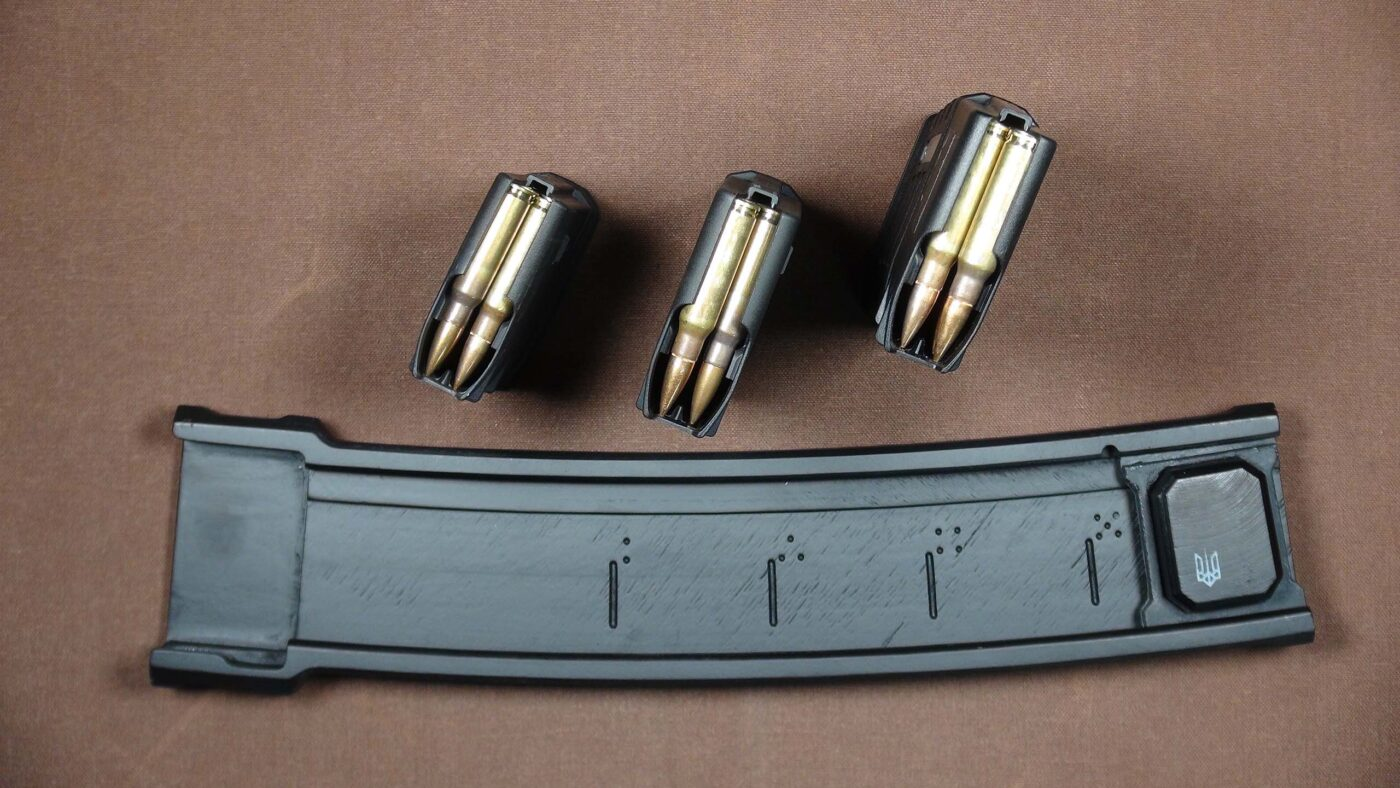 Magazines loaded with .308 ammo