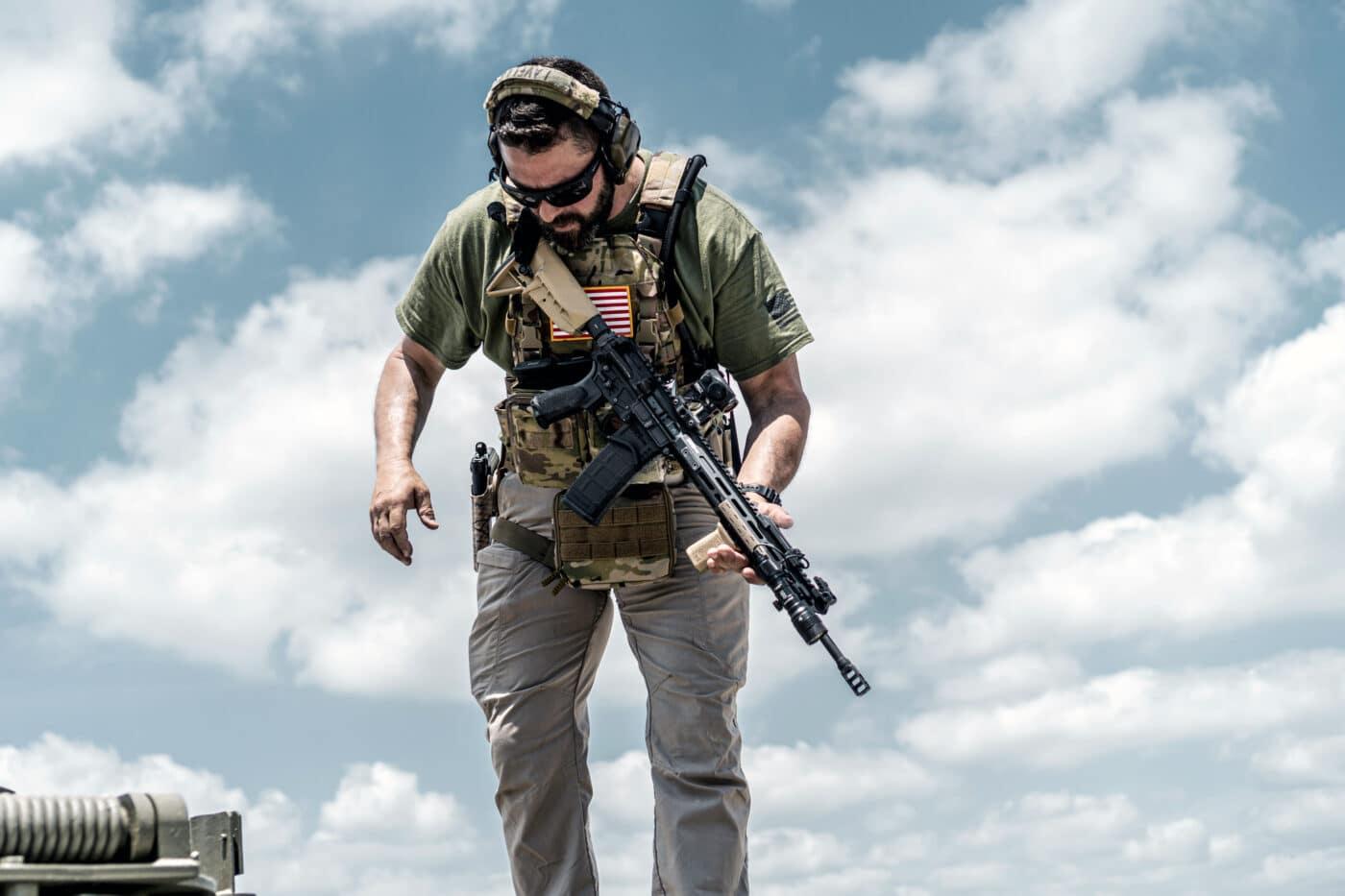 HRT hard body armor range evaluation