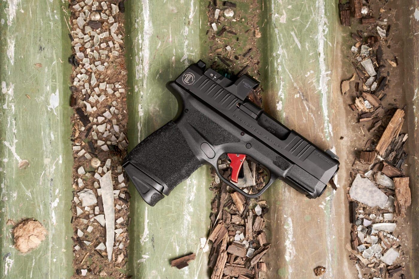 Langdon Tactical custom Hellcat pistol
