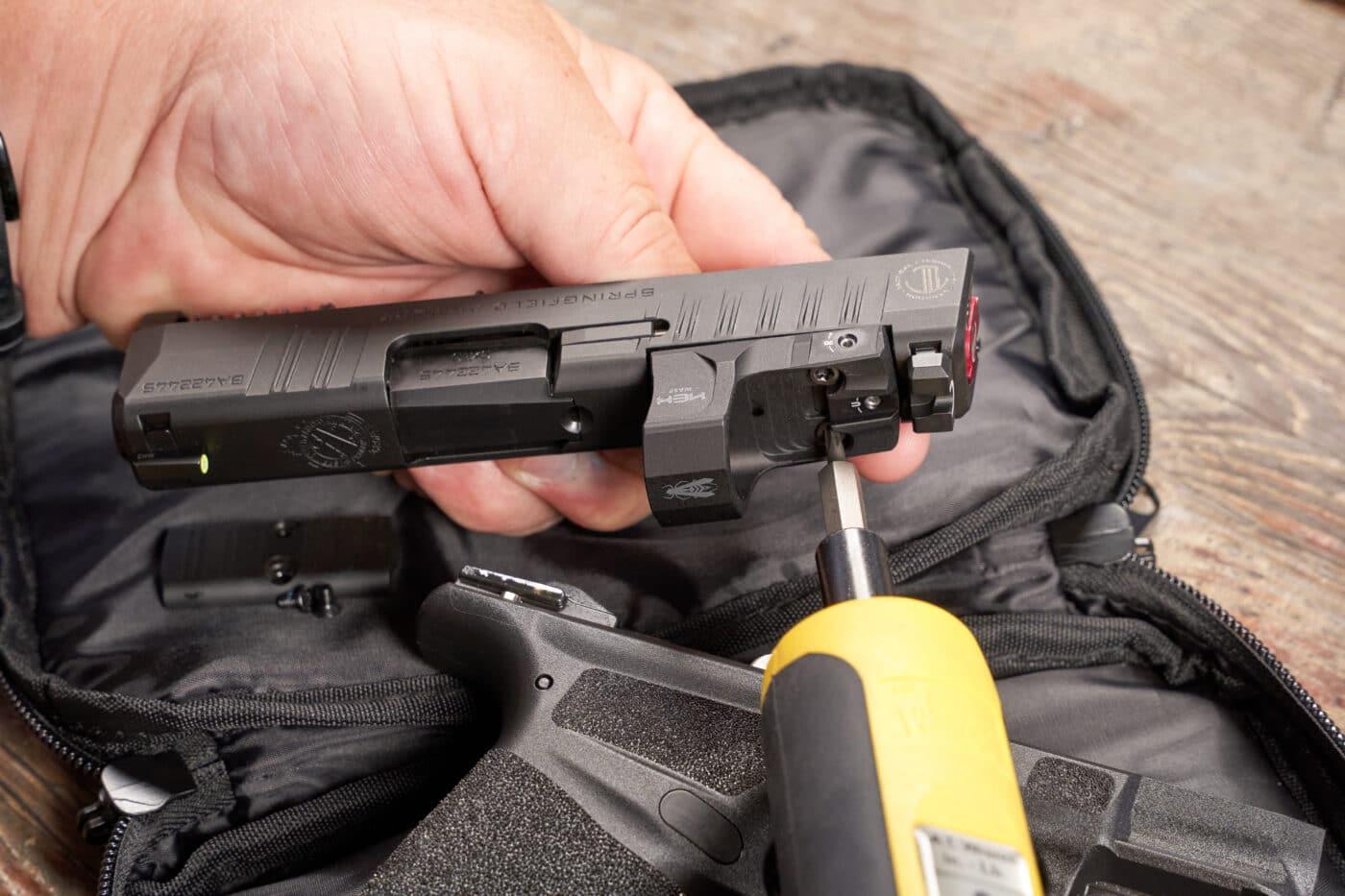 Attaching a red dot to a LTT Hellcat pistol
