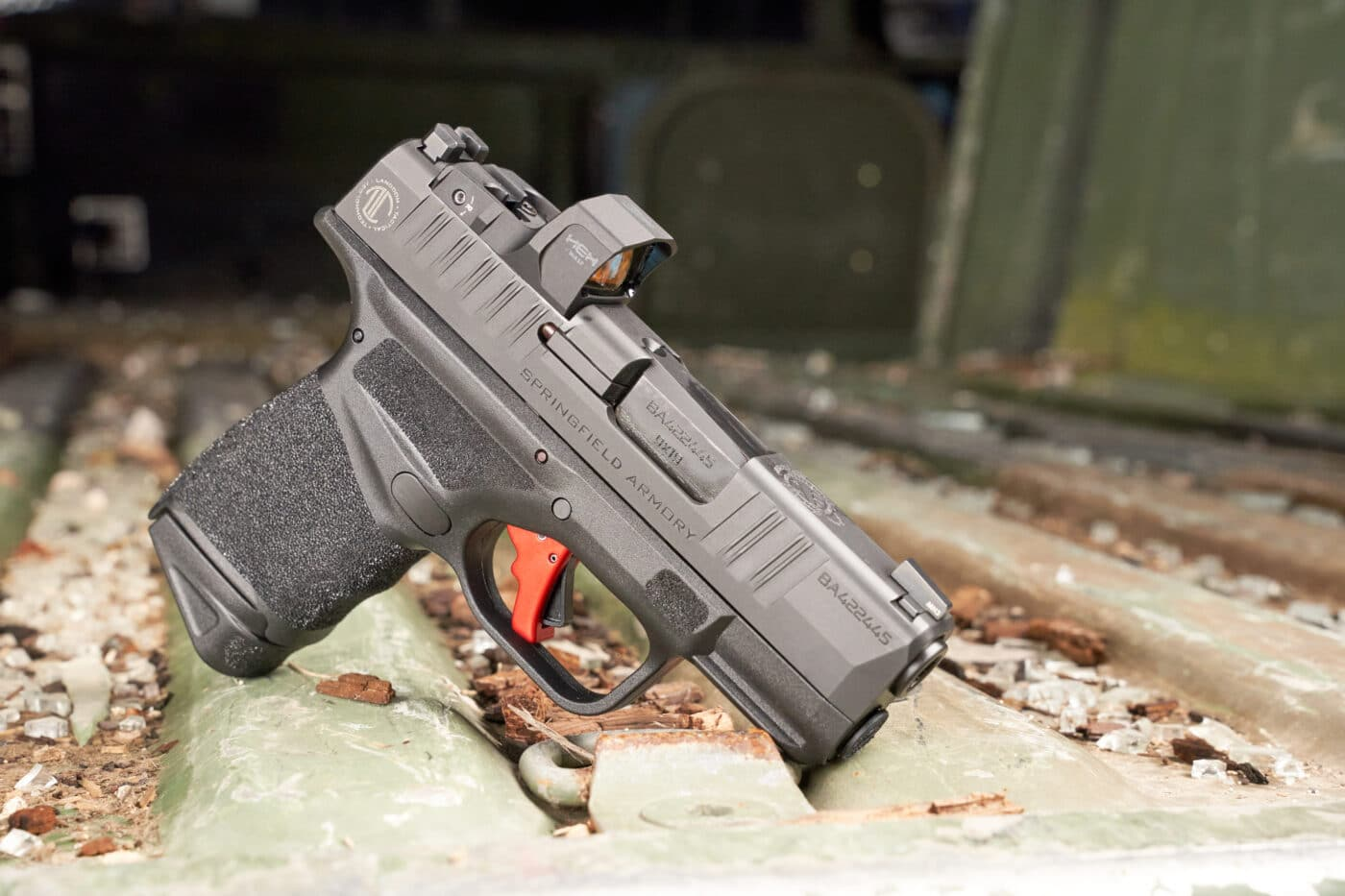 Langdon Tactical Hellcat with custom trigger