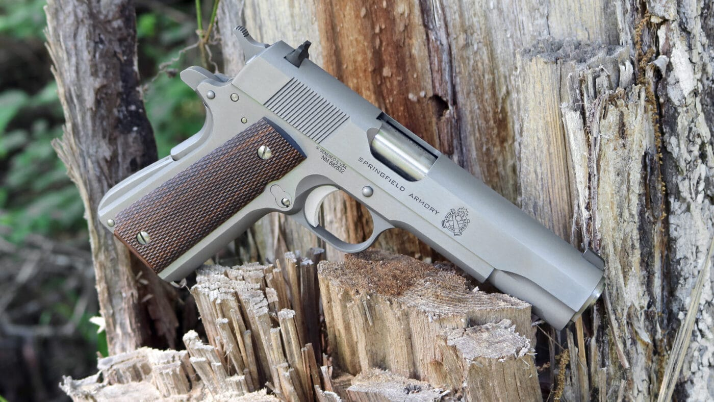 Springfield Armory 1911 Stainless Steel Mil-Spec pistol