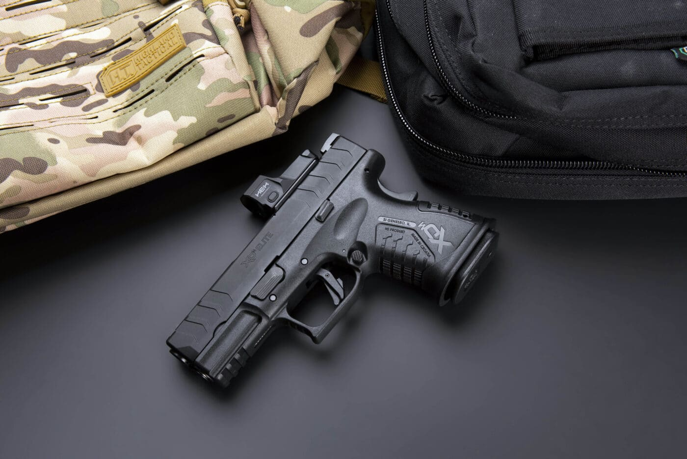 Springfield XD-M Elite 3.8 Compact OSP 10mm with HEX Dragonfly