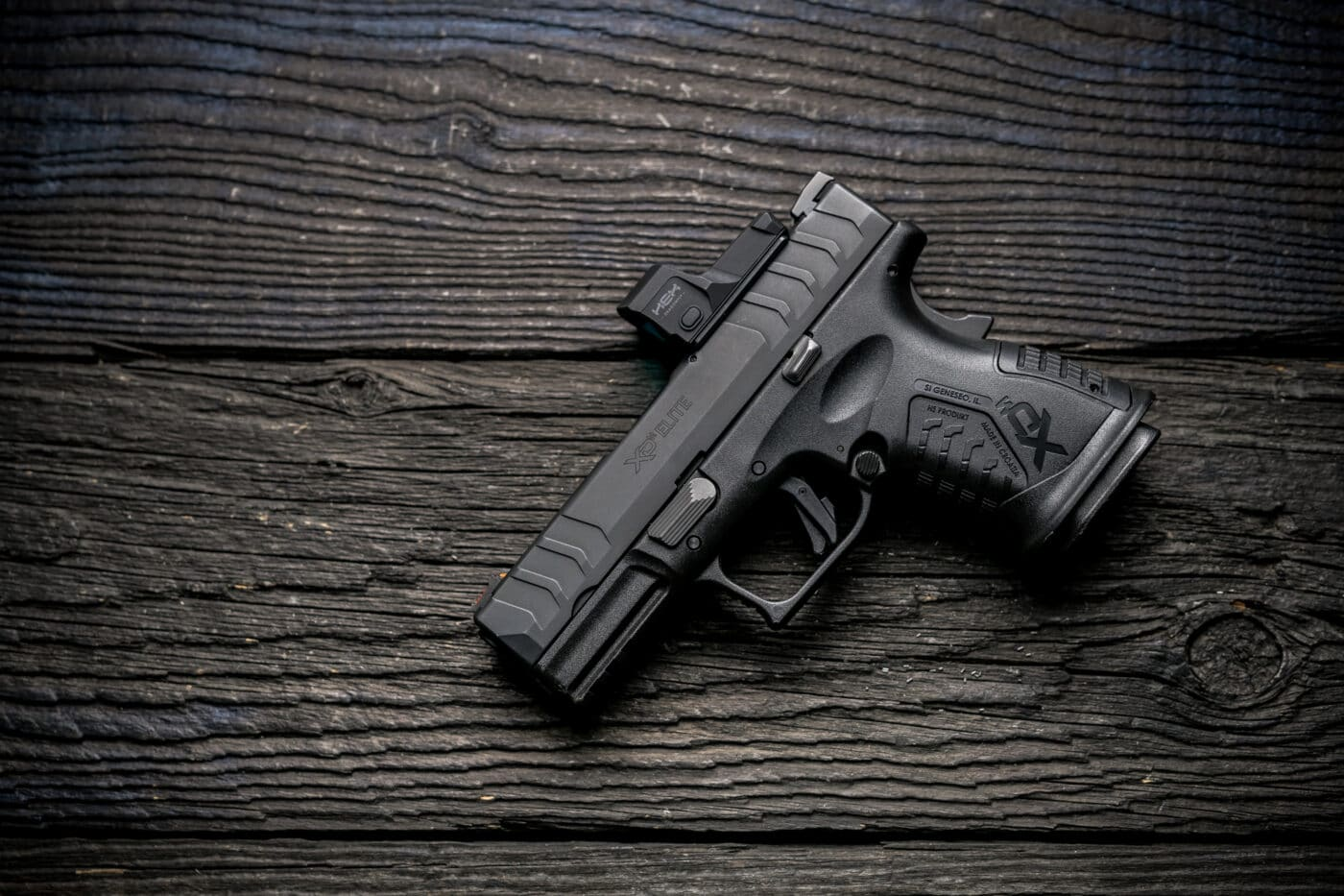 HEX Dragonfly on Springfield Armory XD-M Elite Compact OSP 10mm pistol