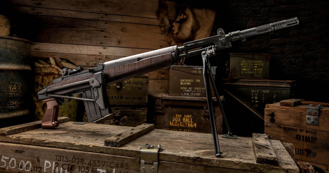 Italian BM 59 rifle