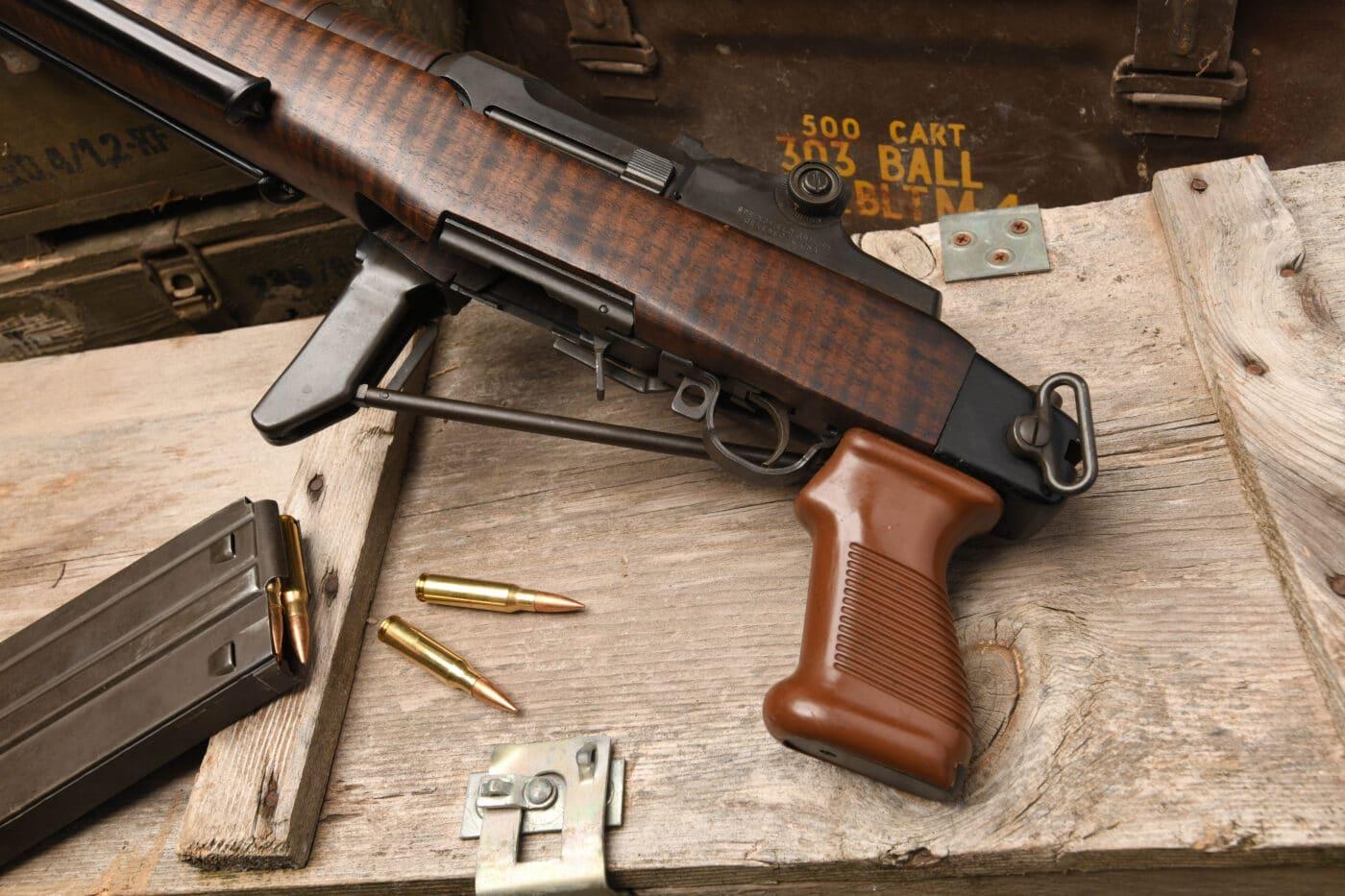 BM 59 Aplini Italian army rifle
