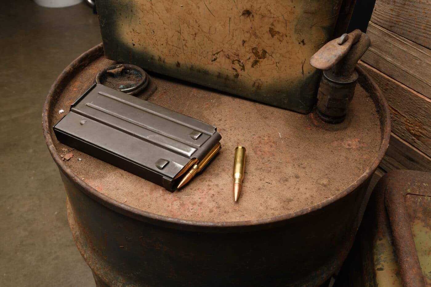 BM59 magazine and ammo