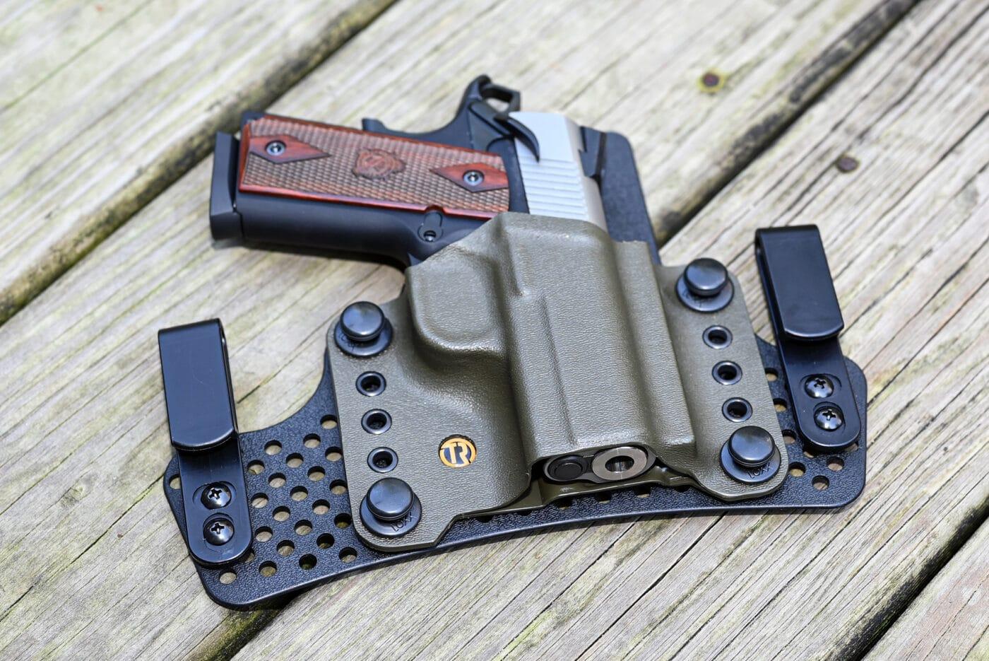 TacRig modular CCW holster for EMP pistol
