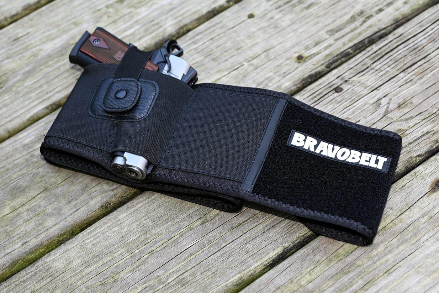 Bravo Belt with EMP pistol in it