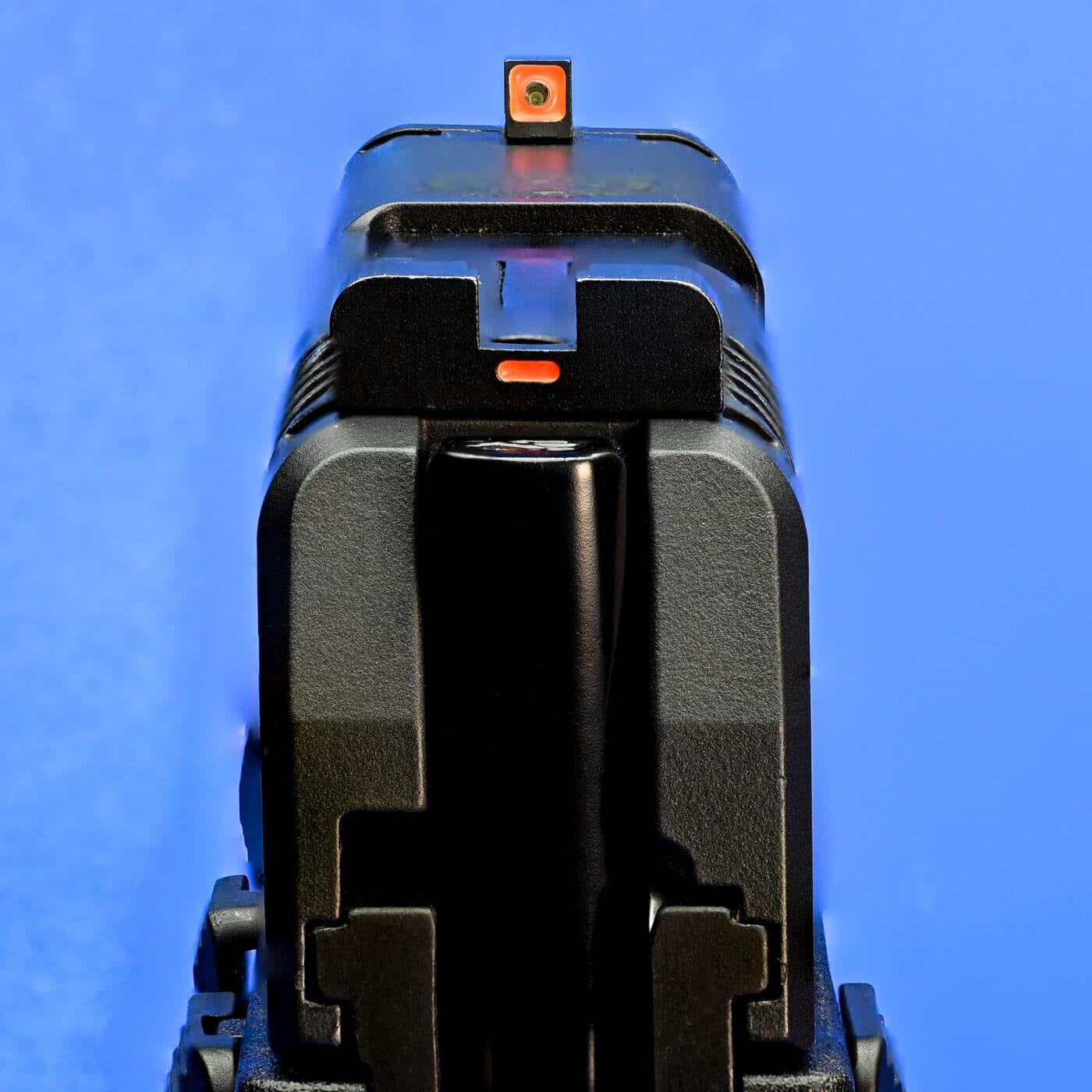 AmeriGlo sights on a pistol