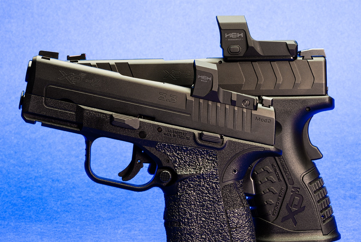 Red dot sights on Springfield Armory pistols