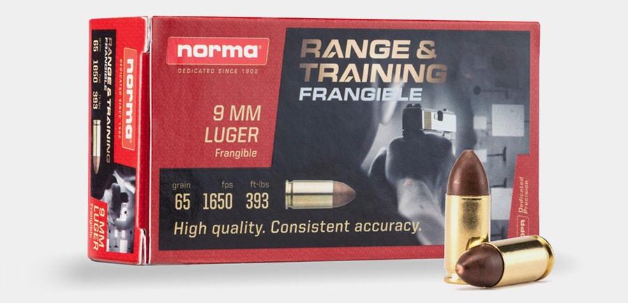 Norma Range & Training 9mm Frangible