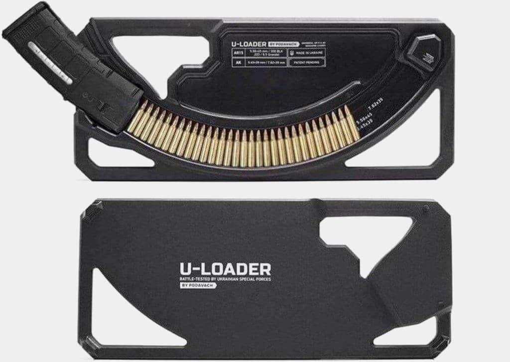 Podavach  U-LOADER AK + AR-15 Magazine Speed Loader