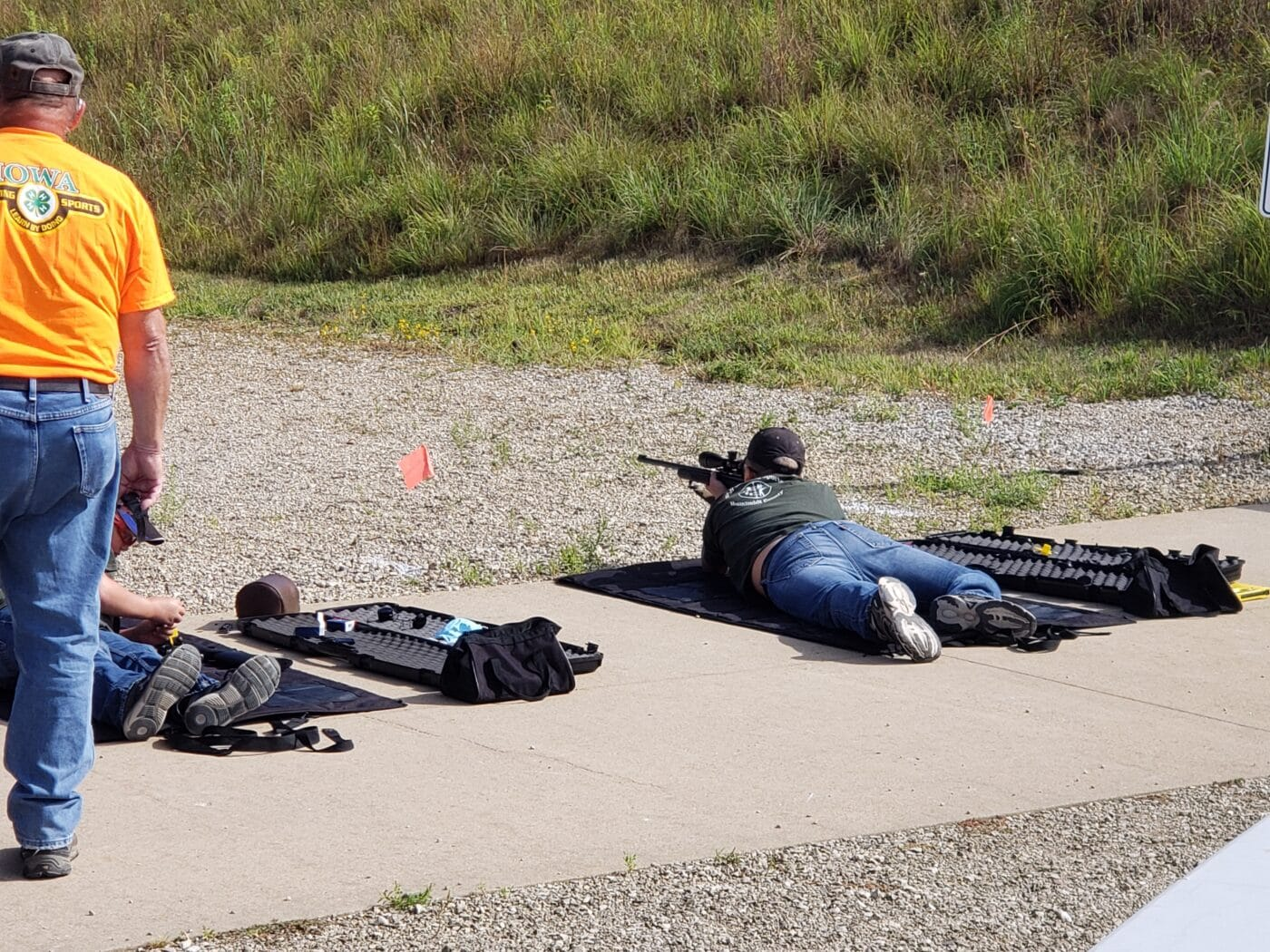 Rifle training offered by 4-H