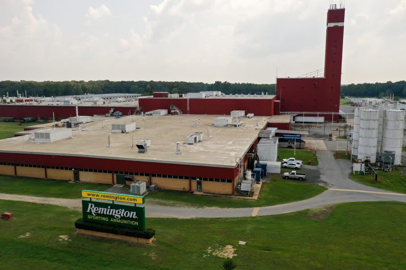 Remington Ammunition plant in Lonoke, Arkansas