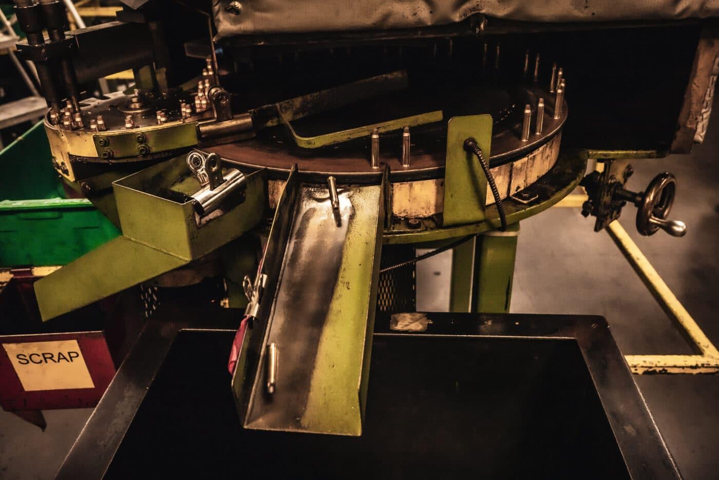 Interior shot of Remington Ammunition manufacturing plant