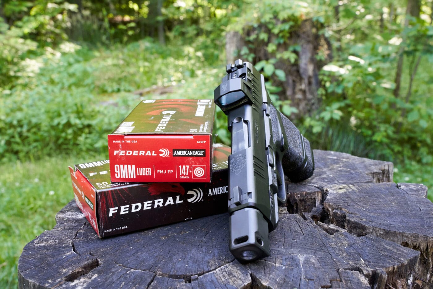 Federal ammo for testing