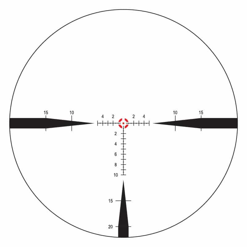 FC-MIL 8x reticle