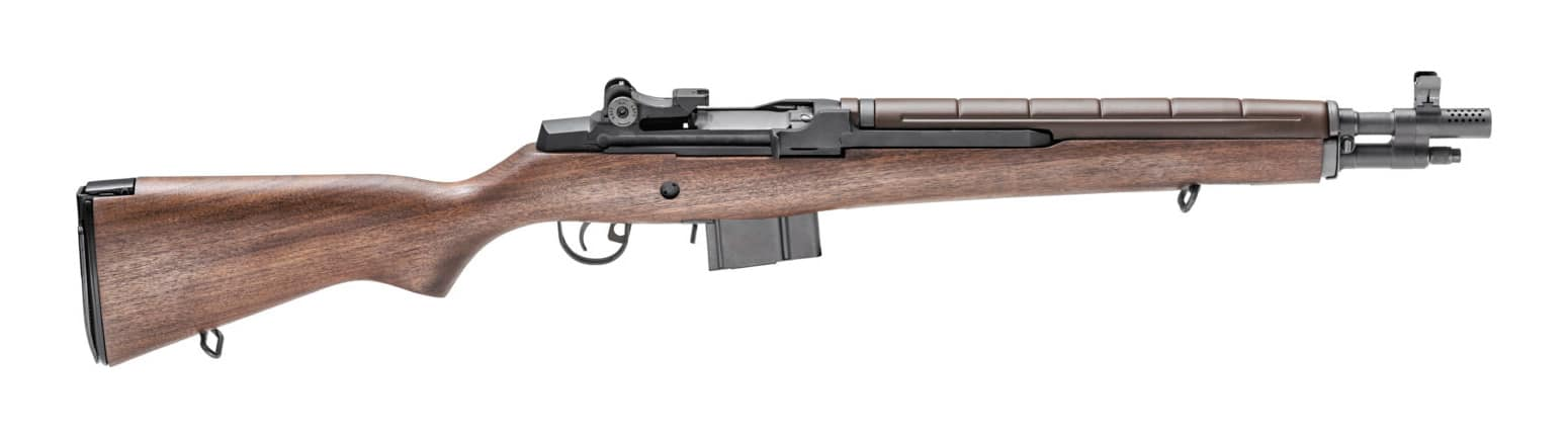 Side view of the Springfield M1A Tanker rifle