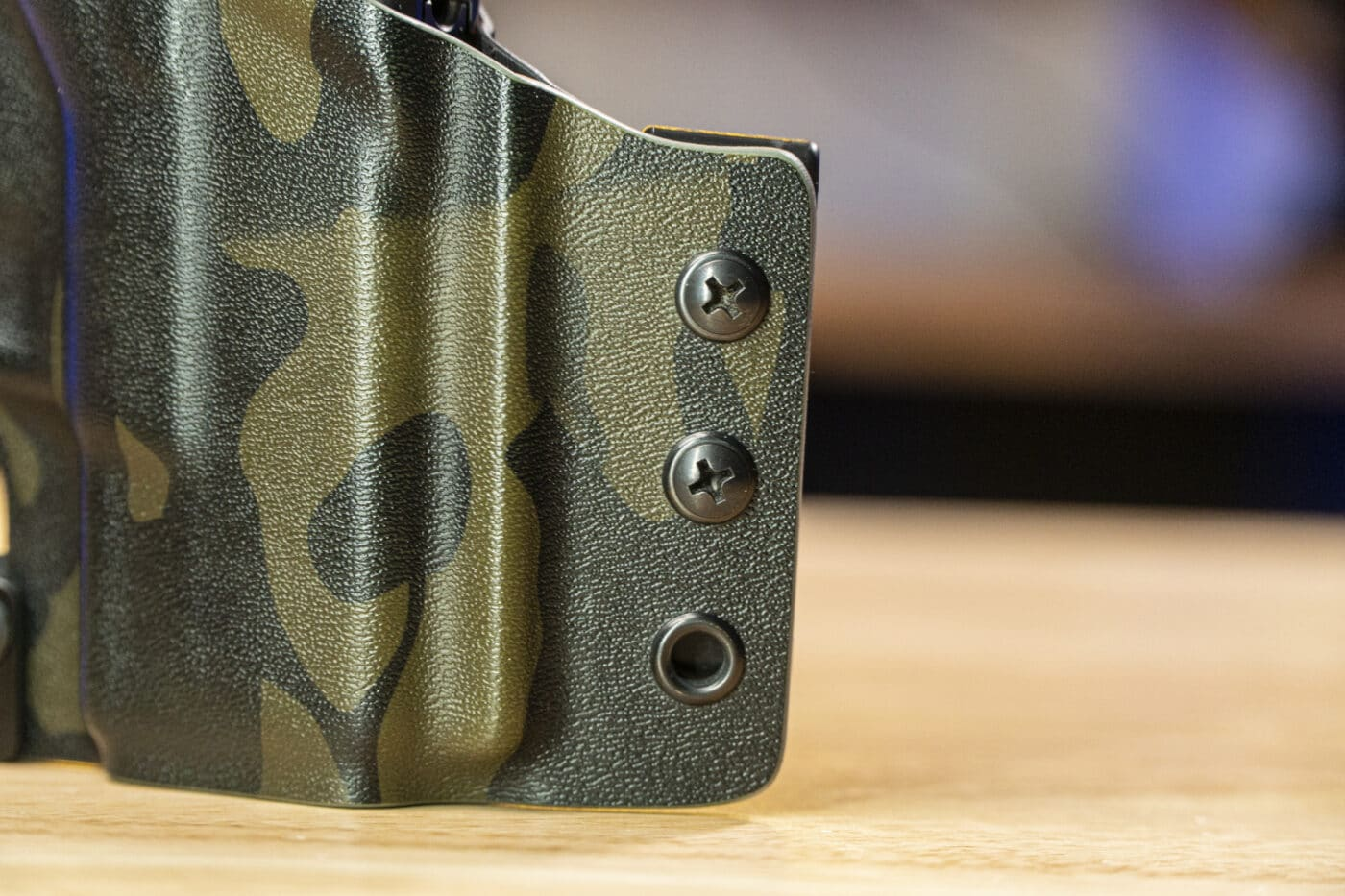Adjustment holes on the Tulster Contour holster