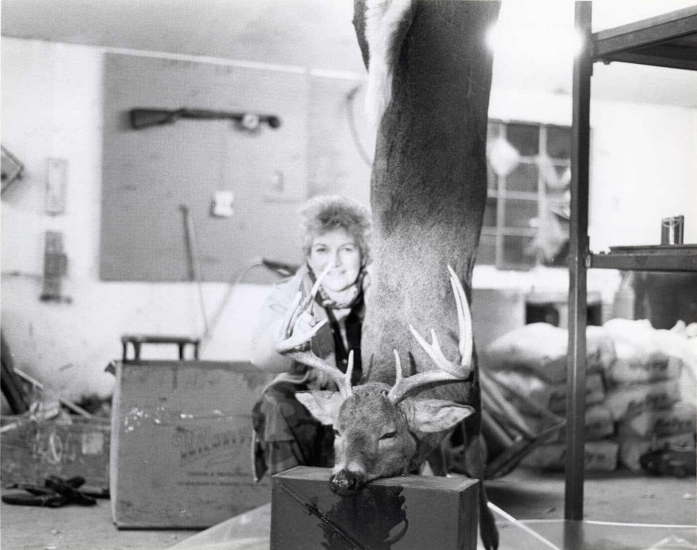 Carol Reese at Springfield Armory