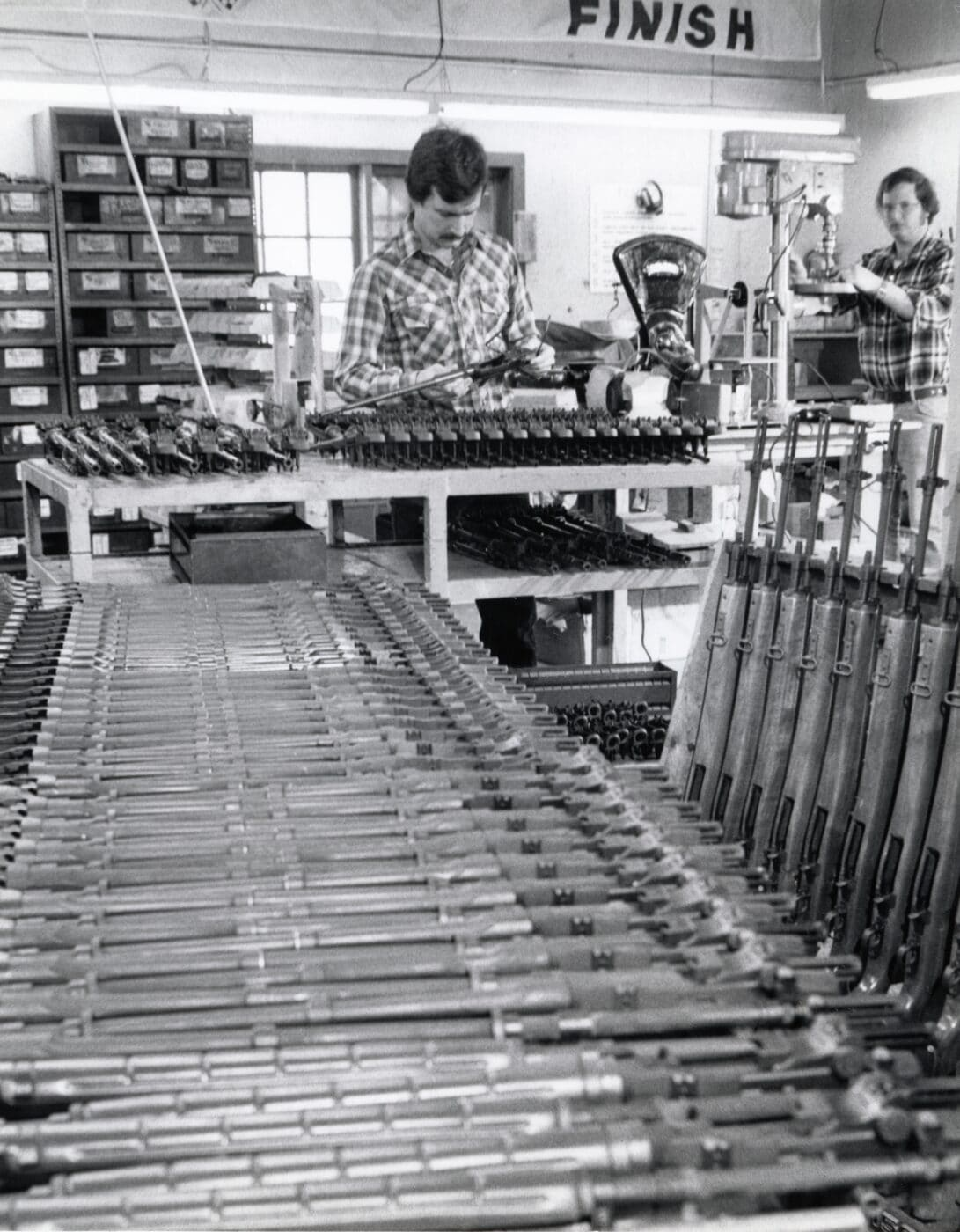 M1A assembly line at Springfield Armory